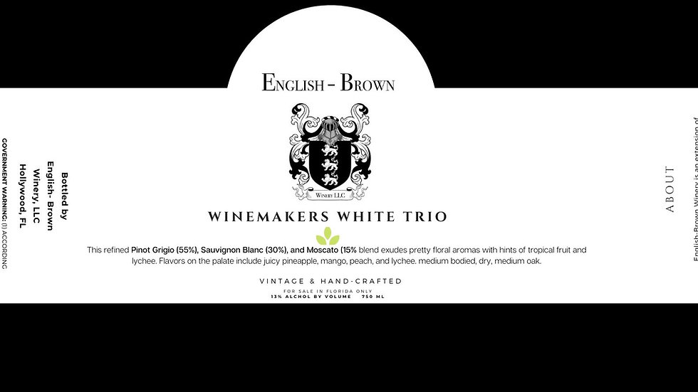 Winemaker's White Trio