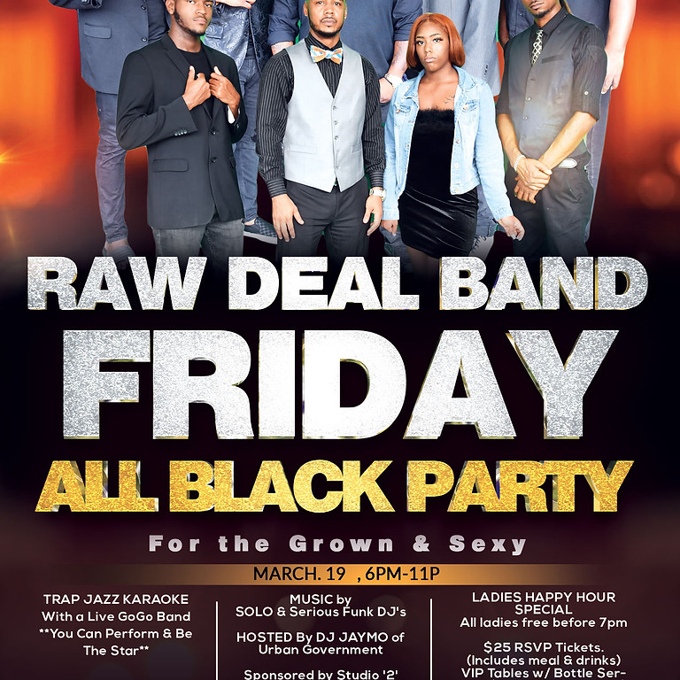 Raw Deal Band Friday