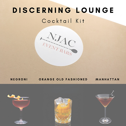 Discerning Lounge Cocktail Kit