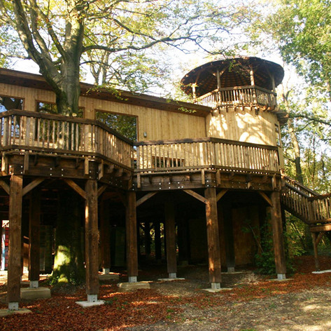 Treehouses, Beaulieu
