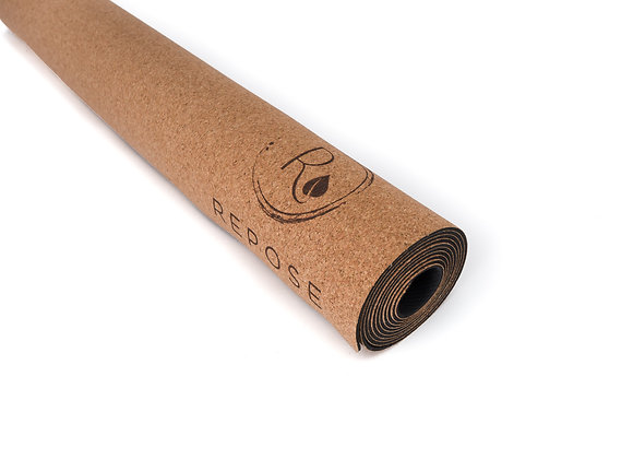 Repose Yoga Cork and natural rubber 2mm travel mat