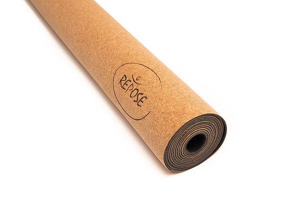 Repose Yoga Cork and natural rubber 2mm travel mat