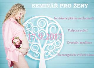 Seminář pro ženy - na cestě za miminkem v Jihlavě