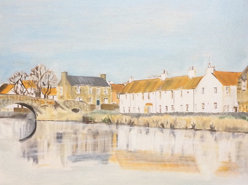Haddington from the River Tyne