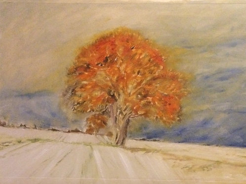 L'Arbre D'Automne (Greetings Cards)