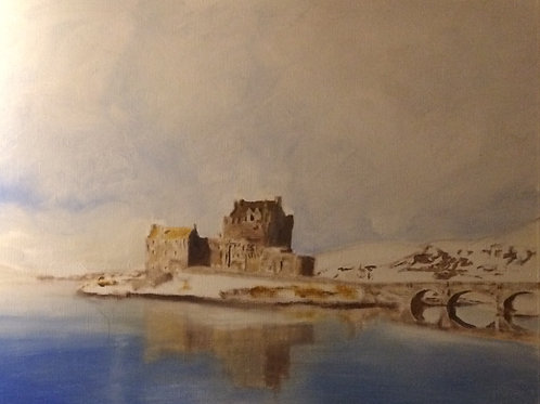 Eilean Donan in Winter (Greetings Cards)