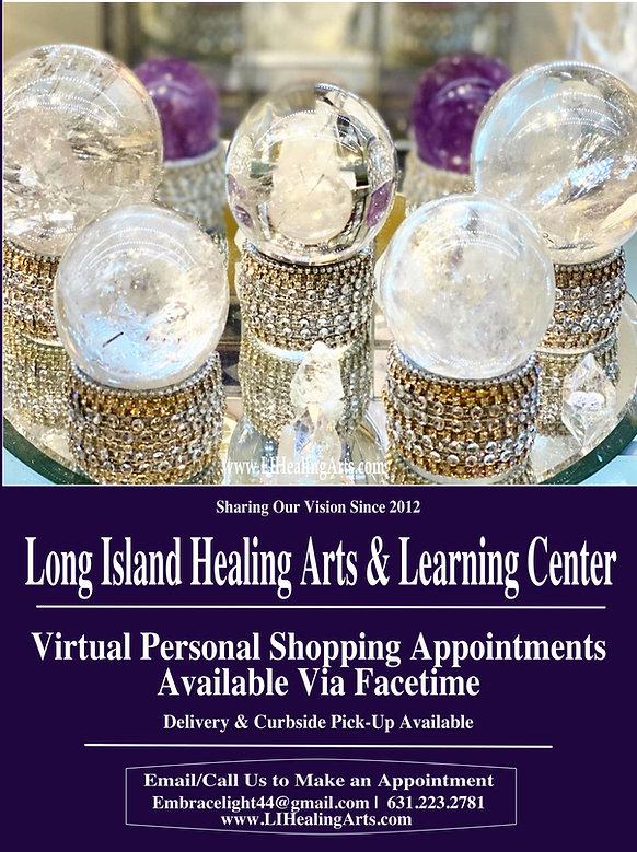 virtual crystal shopping at long island
