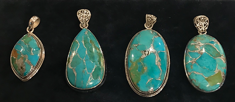 urquoise and Silver Pendants.png