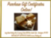 Gift certificates Long Island Healing Ar