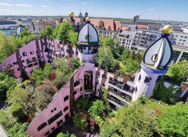 Hundertwasserhaus Magdeburg Altstadt