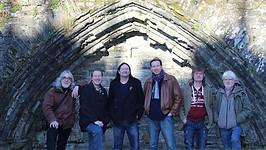Oliver, Gordon and BJH tour photo