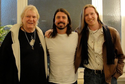 Chris Squire, Dave Grohl & Oliver