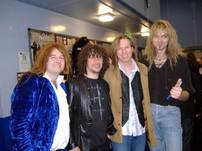 Dave Pearce, Paul Manzi, Oliver & Arjen