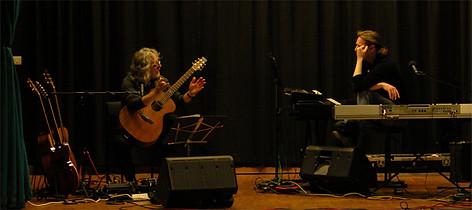 Oliver & Gordon Giltrap in Maltby
