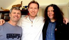 Benoit, Oliver and Paul Manzi