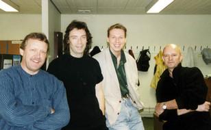 Oliver, Steve Hackett, Martin Hudson & Peter Banks