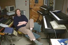 Oliver in Studio (Heaven's Isle)