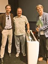 Oliver, Neil Brand and Paul Merton