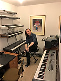 Oliver and Keyboard room