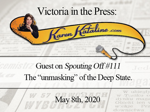 "Interview: Victoria on ""Spouting Off"" with Karen Kataline"