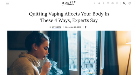 What Happens To Your Body When You Stop Vaping