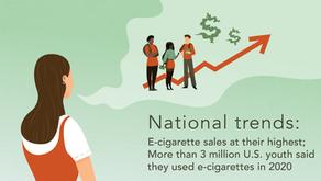 National Trends in E-Cigarette Use