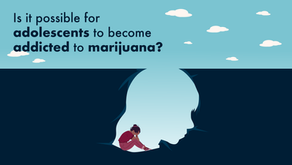 Is it possible for adolescents to become addicted to marijuana?