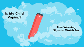 5 Warning Signs Your Child May Be Vaping