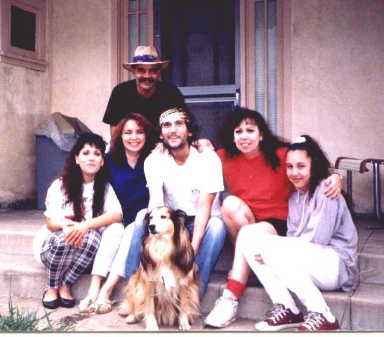 Tyrone and sisters, Tim, Mariah