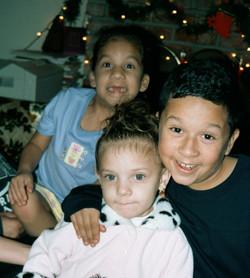 Michelle, Elisha and Analicia