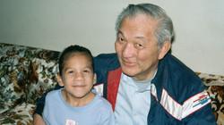 Michelle and Grandpa Bob