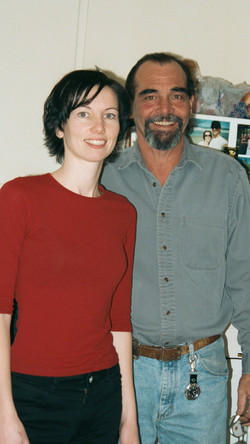 Chalia and dad Tim