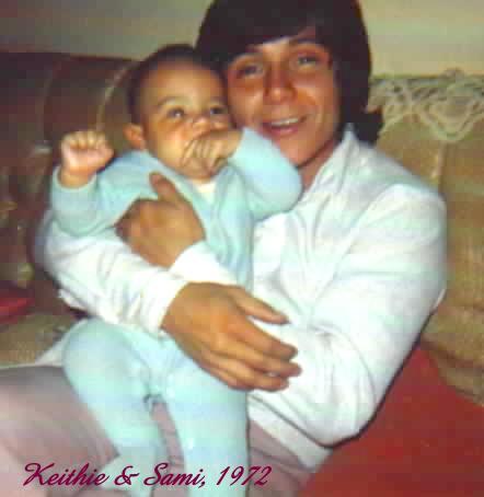 Sami holding Keithie
