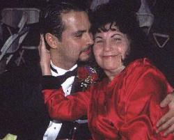 Keith and grandma Connie