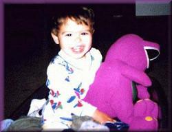 Logan loves Barney