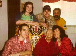 Aunt Grace with the Morrison's, Ron