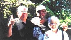 Uncle Jess, Tim, Aunt Glo