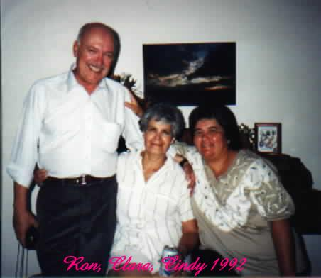 Uncle Ron, Aunt Clara, Cindy