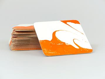 Custom Die Cut Coasters