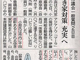 空家対策充実へ 2016.6.8中日新聞