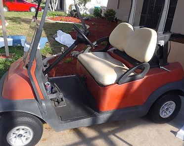 Golf Cart Rebuild Before