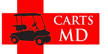 CartsMD logo affordable golf cart repair service