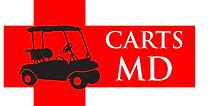 CartsMD logo affordable golf cart repair service