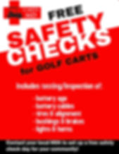 Free Golf Cart Safety Check