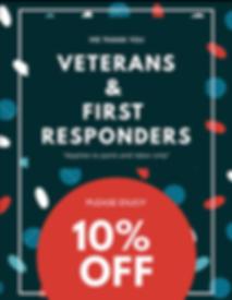 Veteran Discount