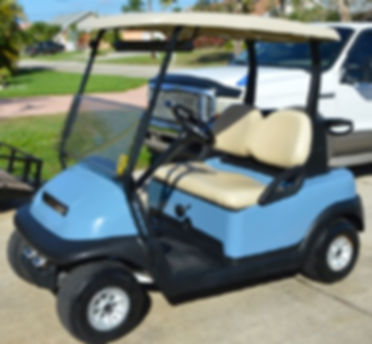 Golf Cart Rebuild After