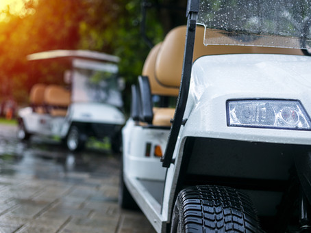 Golf Cart Summer Storage Tips