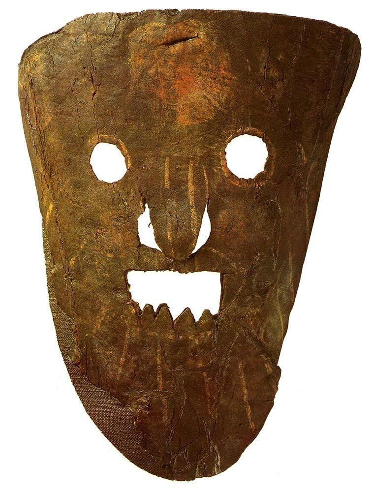 Véles, dieux Slaves, masque, bouffonnerie,