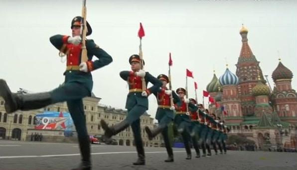 Défilé, commémorations, URSS, Russie, traditions, défilé militaire, 8 mai 45, 9 mai 45