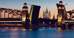 Russie, tourisme, croisière, soleil de minuit, nuit blanche, st petersbourg